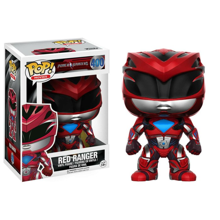 Funko pop! movies power rangers - red ranger 400