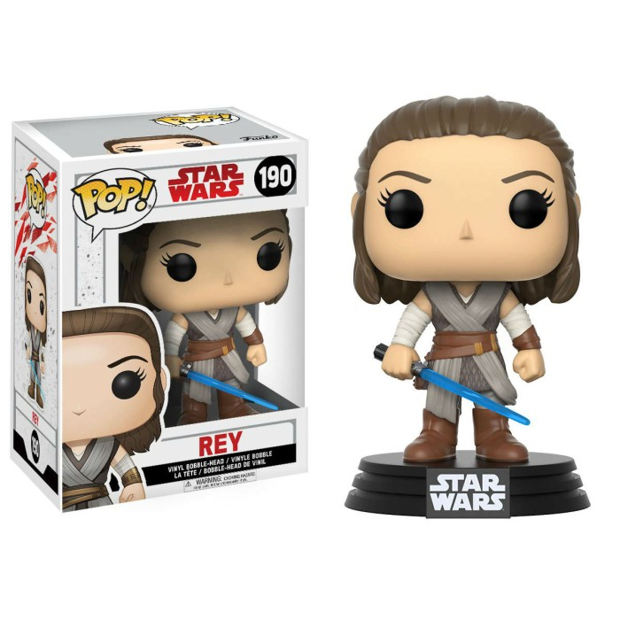 harga Funko pop! star wars the last jedi - rey 190 Tokopedia.com