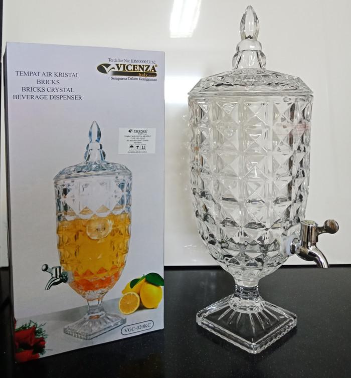 Dispenser Minuman Tempat Air Kristal Vicenza Bricks VGC020KC