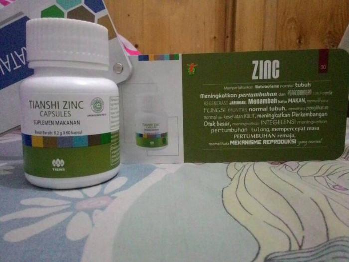 PROMO zinc tiens penggemuk badan penambah nafsu makan herbal PALING MU