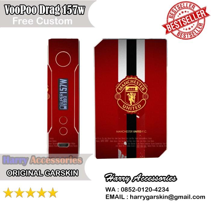 Jual Original Garskin Mod Vape VooPoo Drag 157W Free Custom Gambar - MU -  Kota Yogyakarta - Harry Accessories | Tokopedia