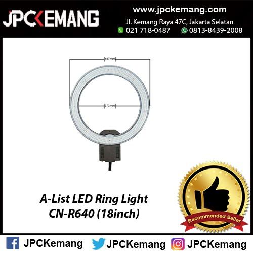 A-list led ring light cn-r640 (18inch)
