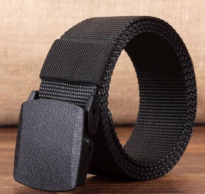 harga Ikat pinggang sabuk canvas tactical military belt anti metal detector Tokopedia.com