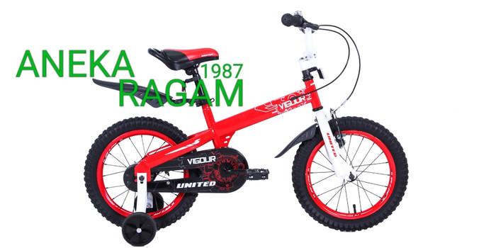 harga Sepeda anak bmx 16 united vigour new (red) Tokopedia.com
