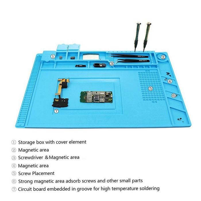 harga Karpet / silicon pad / alas anti panas untuk perbaikan handphone Tokopedia.com