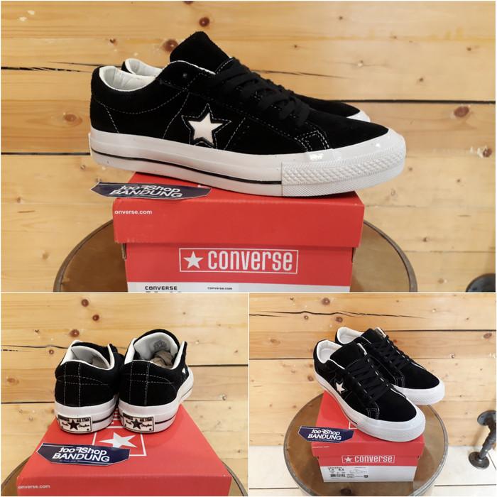harga Converse one star black white premium bnib (free tas sepatu) Tokopedia.com