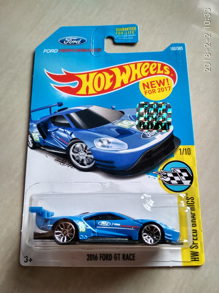 Hot Wheels  Ford Gt Race Factory Sealed