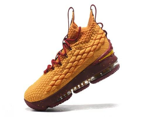 harga Sepatu basket nike lebron 15 yellow burgundy size kecil 36-40 Tokopedia.com