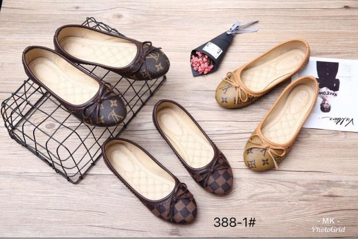 harga Lv flat sylte 388-1v | sepatu wanita | sepatu branded | sepatu import Tokopedia.com