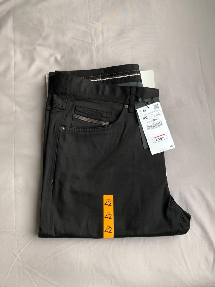 harga Celana chino zara man basic authentic not levis pedro pull and bear Tokopedia.com