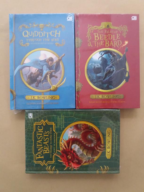 harga Paket 3 buku fantastic beasts beedle the bard & quidditch jk rowling Tokopedia.com