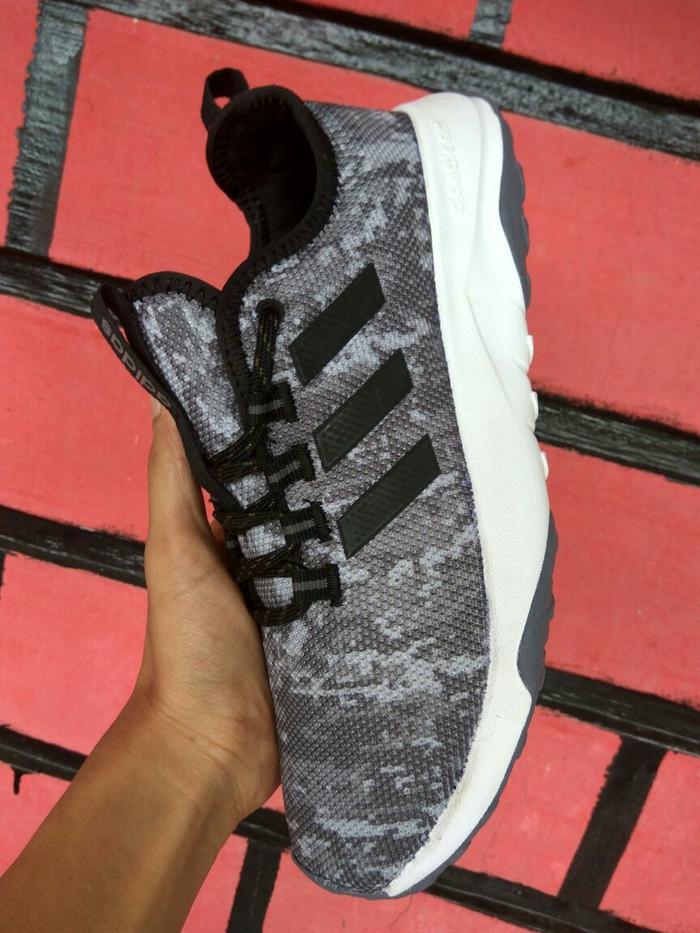 957029db60704 Sepatu Adidas Neo Cloudfoam SUPERFLEX TR CAMO GREY Original Indonesia