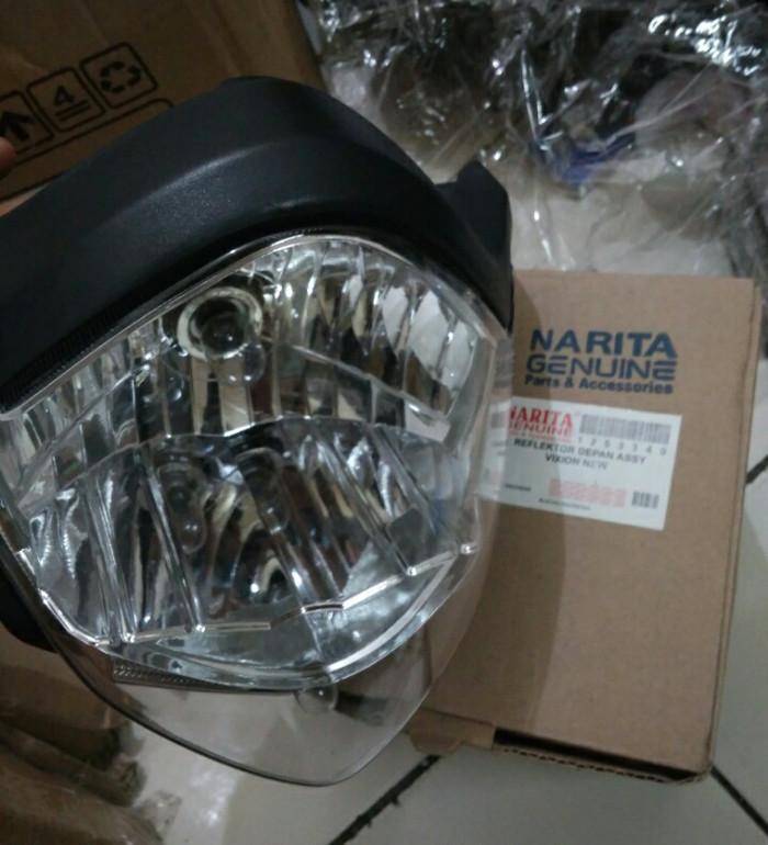harga Reflektor depan batok lampu assy vixion new headlamp Tokopedia.com
