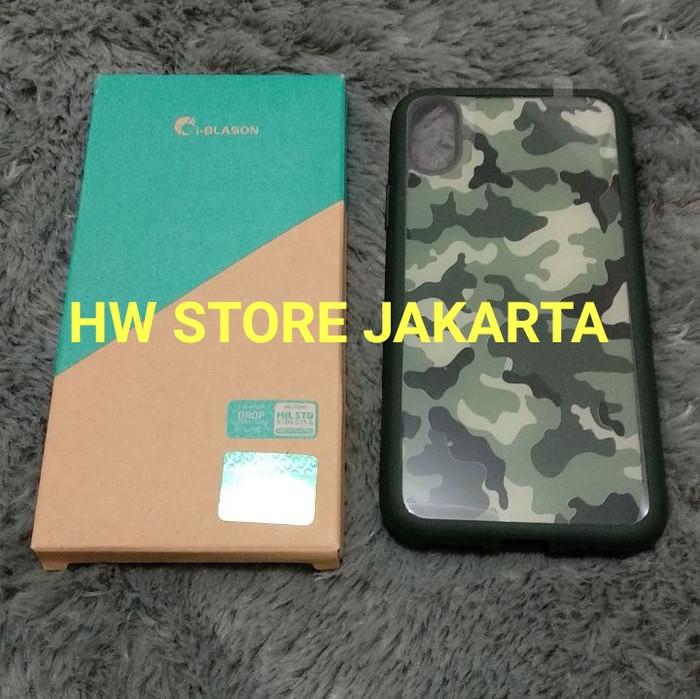 harga Supcase i-blason iphone x halo hybrid clear case - camouflage Tokopedia.com