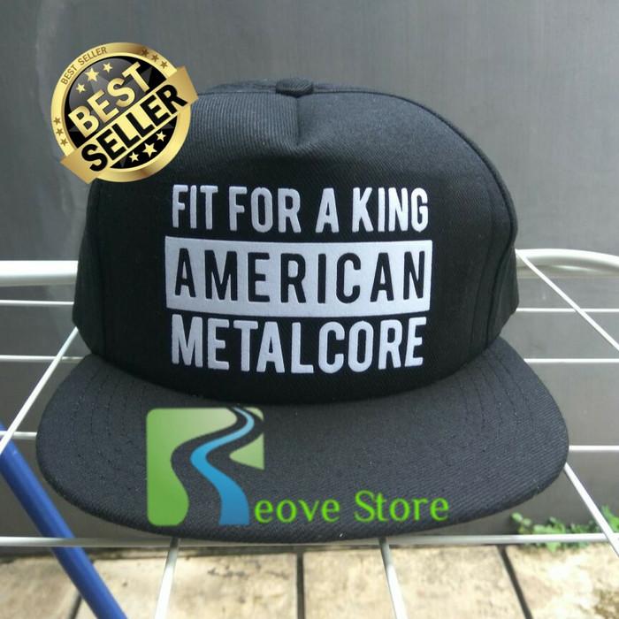 harga Topi snapback american metal core trucker baseball - reove store Tokopedia.com