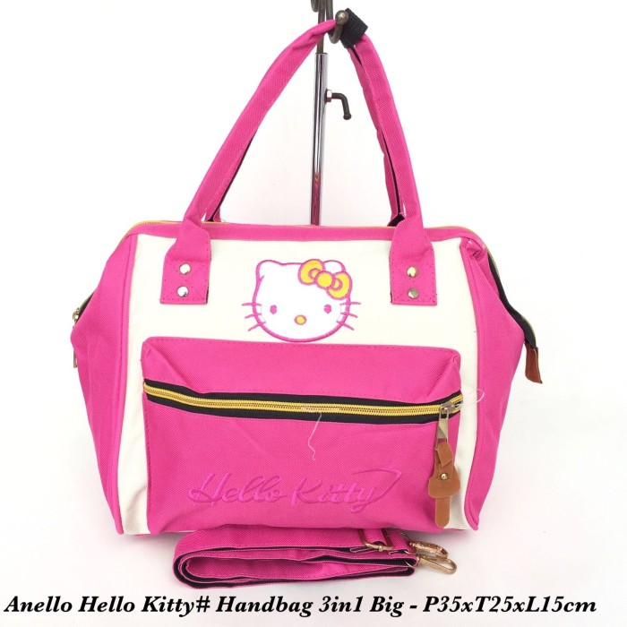 Jual Tas import Wanita Anello Handbag Hello Kitty 3in 1 Big - 10 ... 76cd88e25d62b