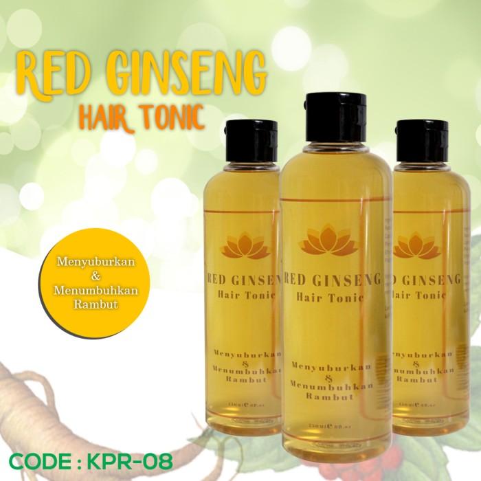 harga Red ginseng hair tonic / anti rambut rontok Tokopedia.com