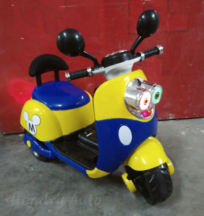 harga (khusus Gojek) Mainan Motor Aki Minion Anak Tokopedia.com