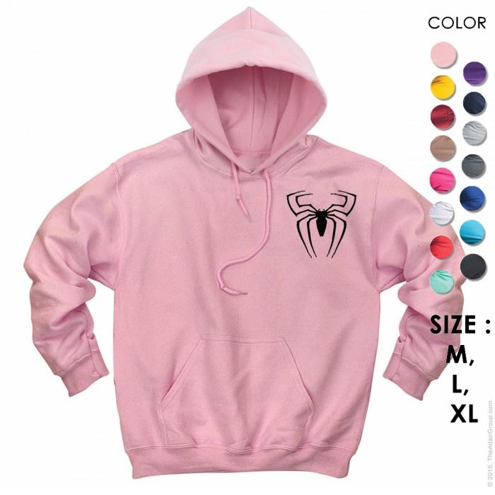 Tns hoodie jumper custom spiderman cowok cewek hoodie pria wanita 140j