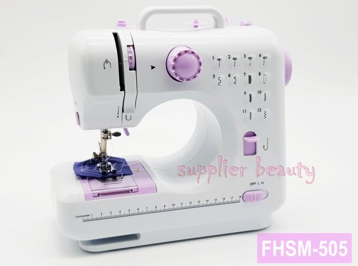 Foto Produk Mesin jahit mini portable FHSM 505 / FREE BUBLE WRAPING dari supplier beauty