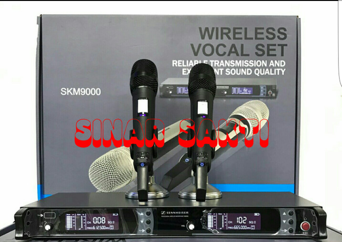 harga Murah Mic Sennheiser Skm 9000 Wireless Microhpone ( Multi Channel ) Tokopedia.com