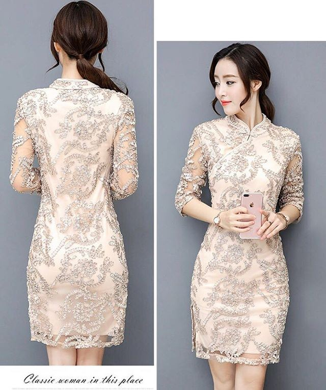 harga Angely shanghai dress import Tokopedia.com
