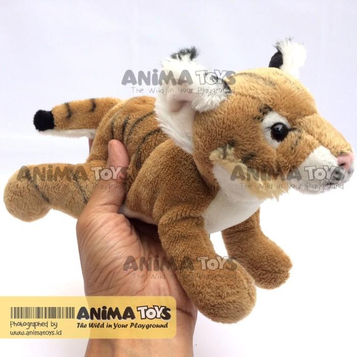 harga Boneka hewan anak kucing hutan bobcat cub animatoys swi054 Tokopedia.com