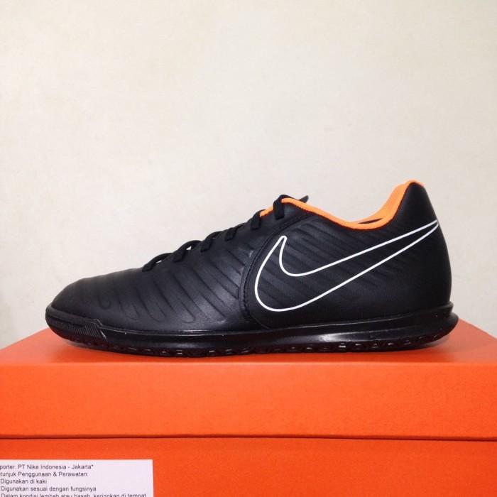 premium selection 7b0f9 826e3 Jual Sepatu Futsal Nike Legend X 7 Club IC Black Total Orange AH7245 ...