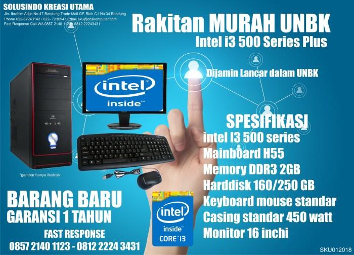 harga Komputer unbk murah intel i3 500 series + led 16 inch Tokopedia.com