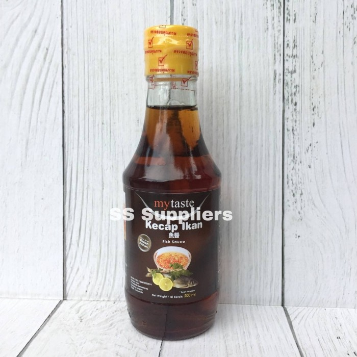 Foto Produk FISH SAUCE | Kecap Ikan 200 ml, Best Seller! dari SS Suppliers F&B Jakarta