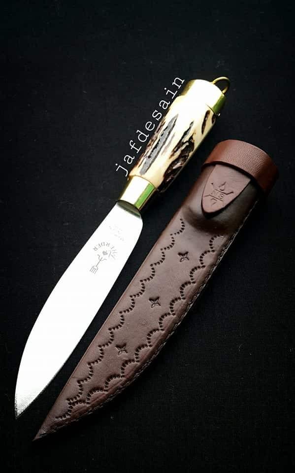 harga Herder.pisau cap garpu asli 5 type legendaris handle t. rusa & s.kulit Tokopedia.com