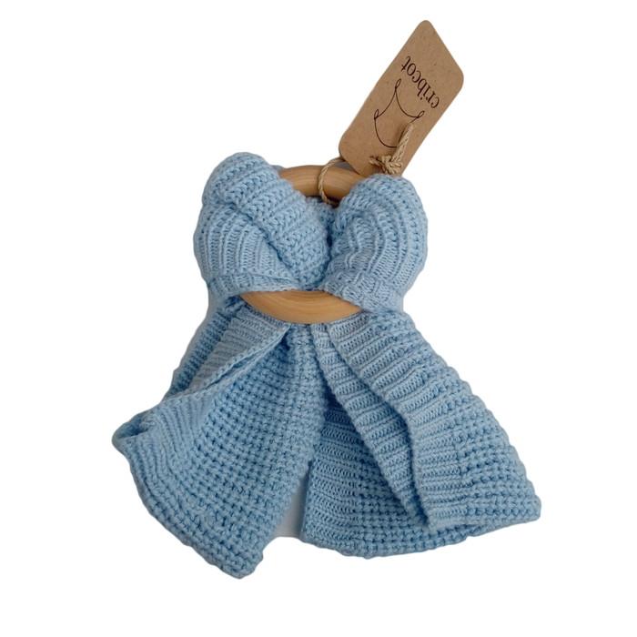 harga Cribcot neck warmer (syal anak) - plain sky Tokopedia.com