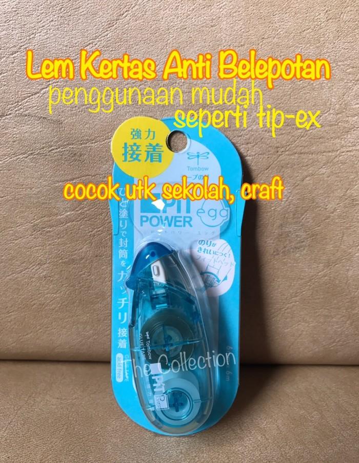 harga Atk0440tw glue tapes lem kertas pn-epc40 tombow pit power egg craft Tokopedia.com