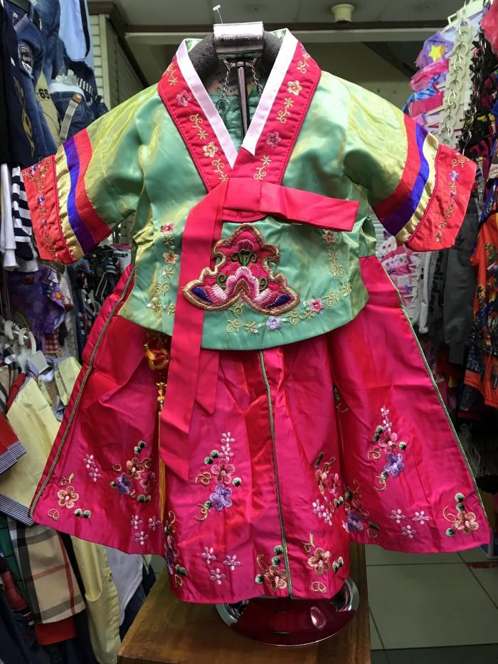 Jual Dress Hanbok Korea Anak Perempuan Cewek Balita Impor ...