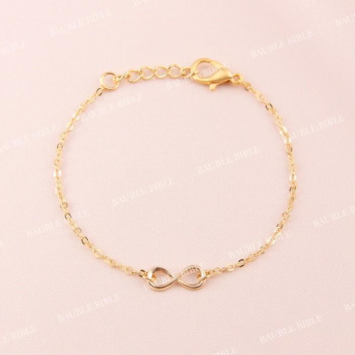 Mini Infinity Bracelet Perhiasan Gelang