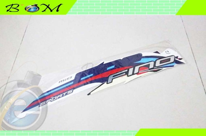 harga Striping stiker sticker yamaha mio fino sporty sports fi 2015 putih Tokopedia.com