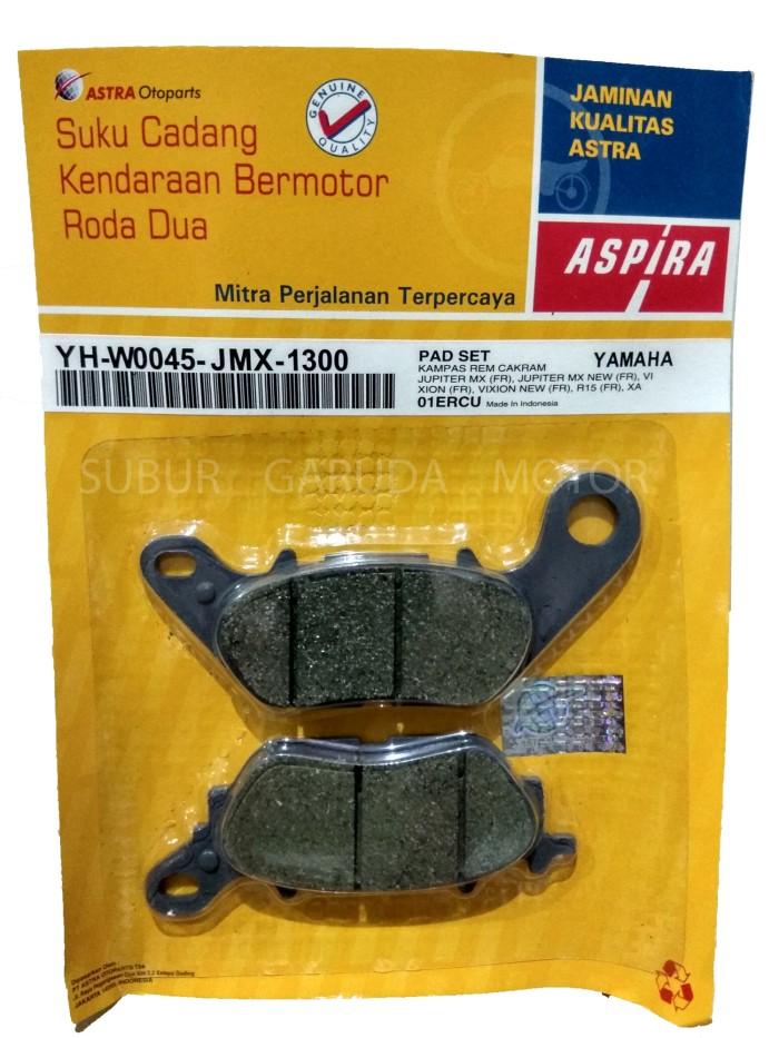 harga Kampas Rem Aspira Jupiter Mx Vixion Xeon Mio J Gt Disc Pad Tokopedia.com