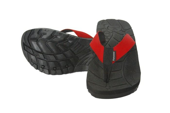 Foto Produk Sandal Gunung Funcover Sendal Jepit Hiking Outdoor High Quality Merapi - Hitam, 39 dari lbagstore