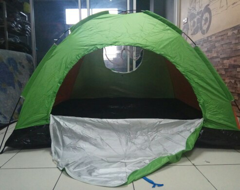 harga Tenda camping hyu single layer kapasitas 6/7 orang not eiger Tokopedia.com
