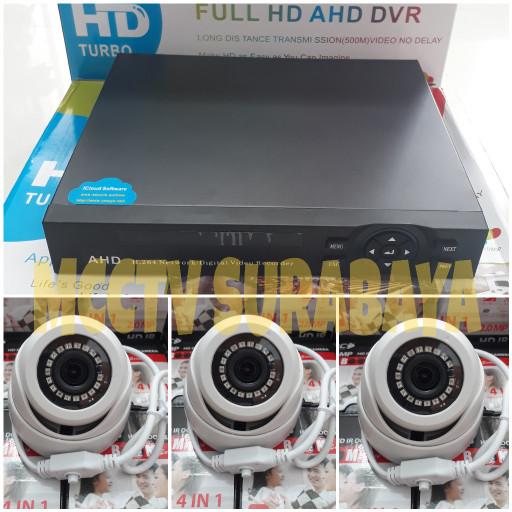 harga Paket cctv 4ch 2mp dengan 2 cctv indoor full hd 1080p murah Tokopedia.com