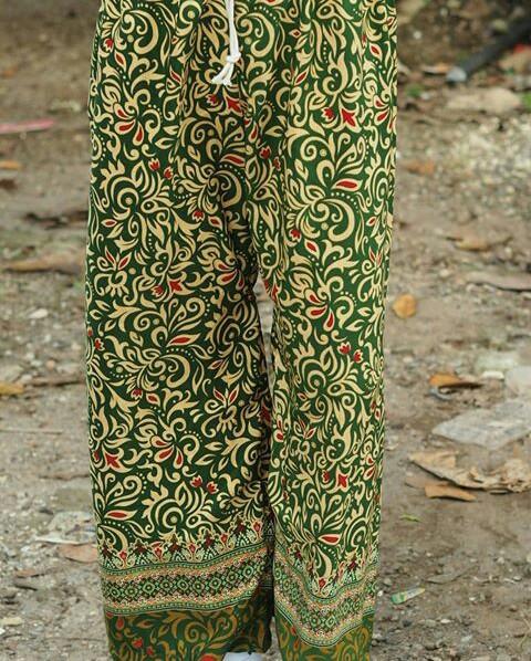 Jual Celana Batik Betawi Celana Boim Celana Batik Celana Kulot