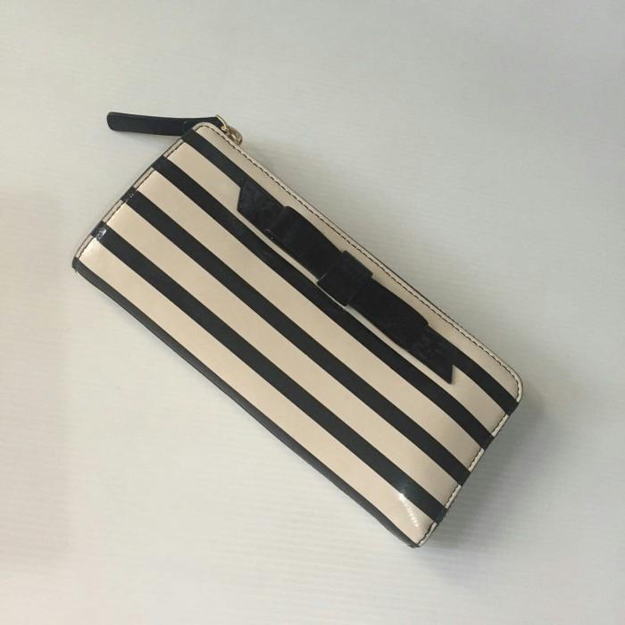 KS Nisha Chelsea park patern stripe black cream