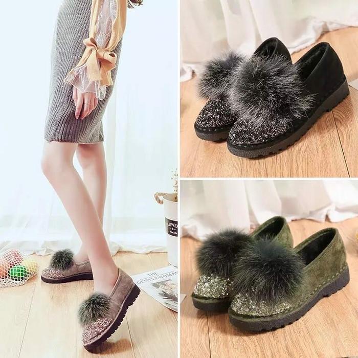 Sepatu korea style code 8018 .