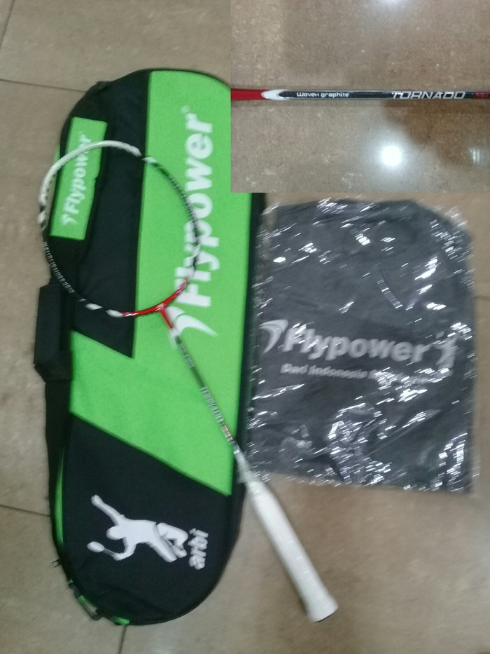 harga Raket badminton flypower tornado 900 Tokopedia.com