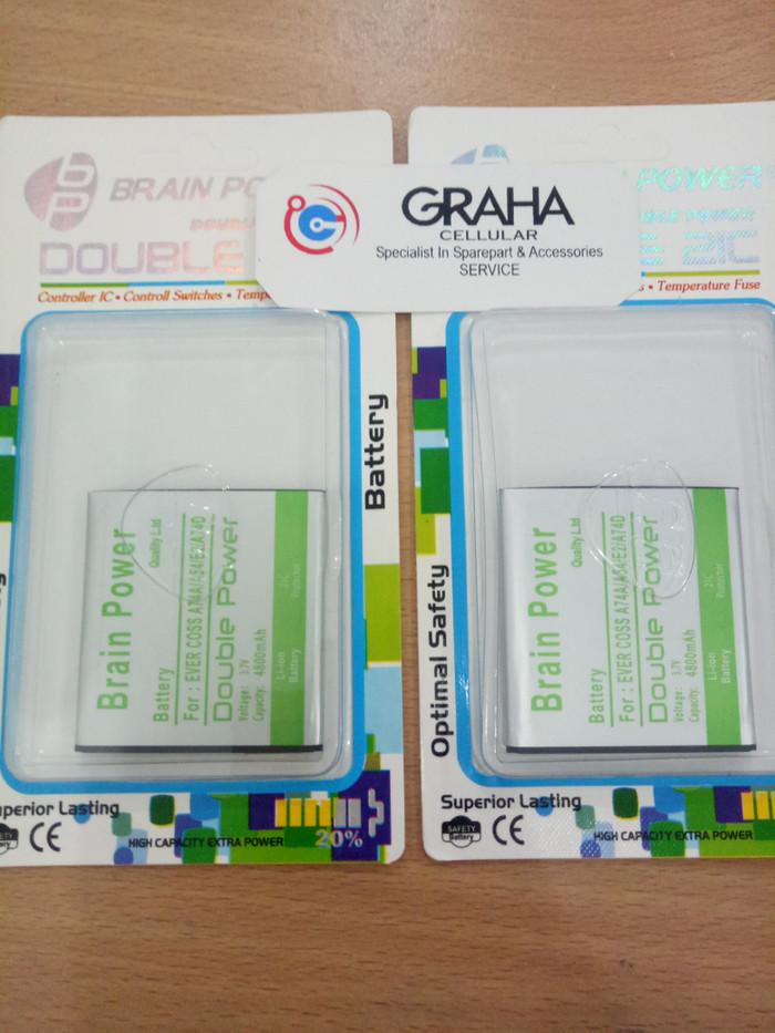 harga Baterai evercoss a74a / a54 / e2 / a74d double ic brain power Tokopedia.com