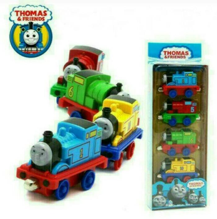 Mainan thomas & friends die cast set 4 pcs dus