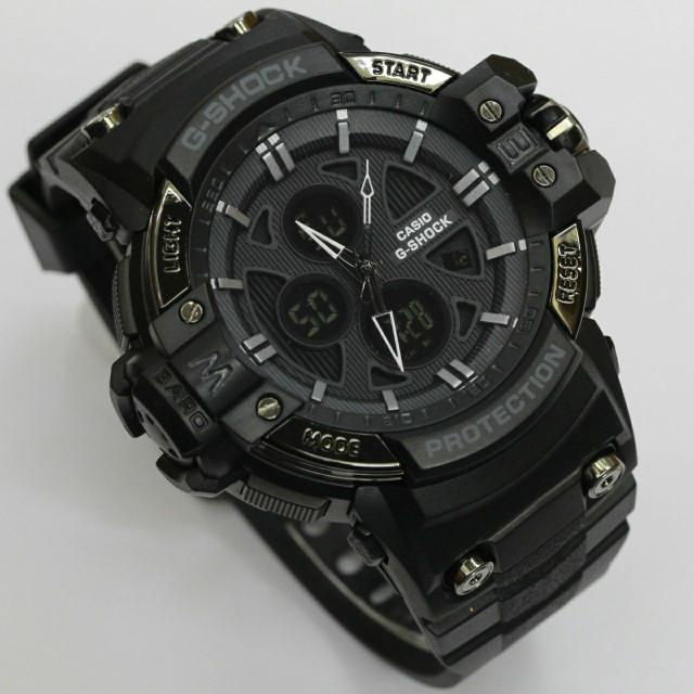 Jual GROSIR Jam Tangan Pria GShock X-Protrek full black Jam G-Shock ... 26341cc14d