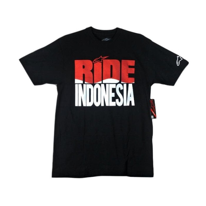 harga Alpinestars ride indonesia t-shirt pria original - black Tokopedia.com