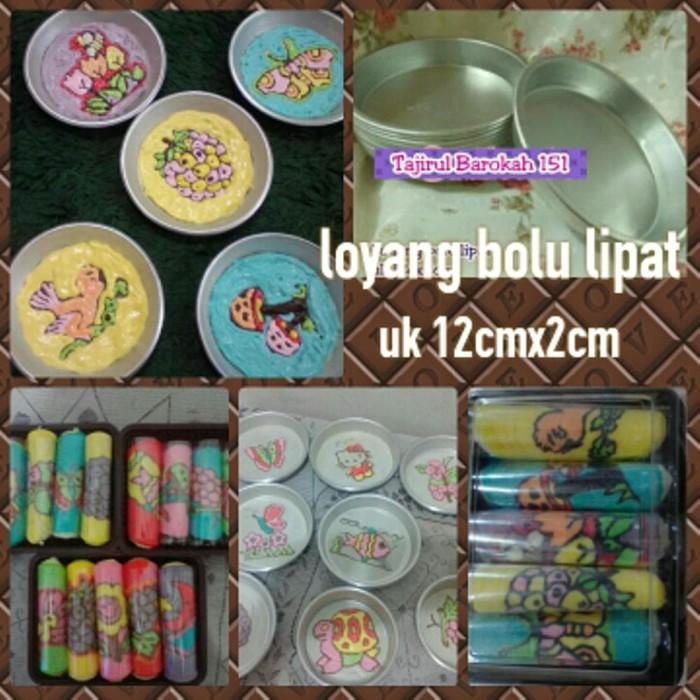 harga Loyang pizza mini / bolu lipat diameter 10 cm Tokopedia.com