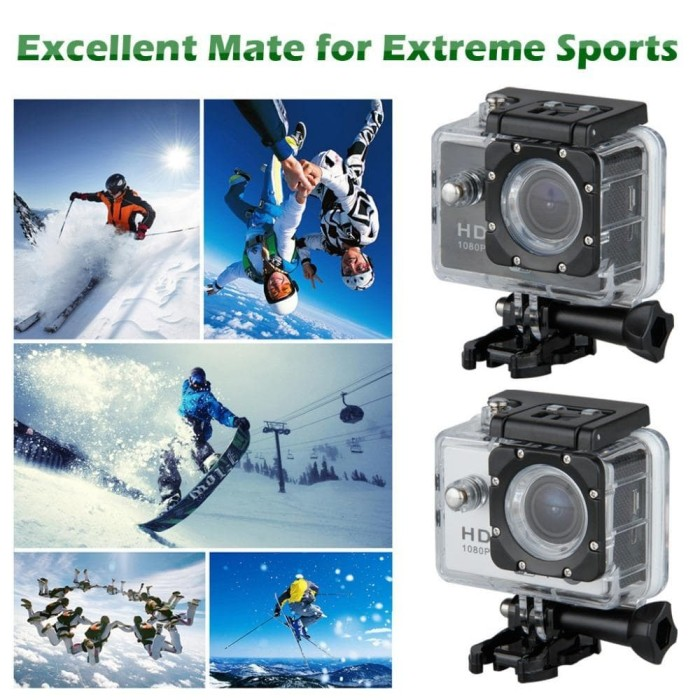 harga Action camera sport 12mp olah raga waterproof anti air kamera motor Tokopedia.com